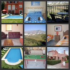 -SPANISH  SELF CATERING HOLIDAY, NEAR MALAGA , SLEEPS 13, WIFI & LARGE POOL