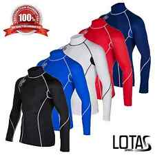 Lotas Mens Compression Base Layer Long Sleeve Under Shirt Skin Top Body Armour