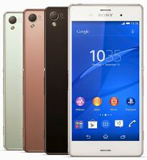 "NEW Sony XPERIA Z3 Dual Sim D6633 (FACTORY UNLOCKED) 20.7MP, 5.2"" , 2.5GHz CPU"