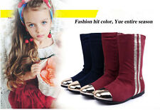 New Fashion Shoes Girls Snow Boots Winter Boots Warm