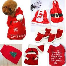 Pet Shoes Dog Sweater Xmas T Shirt Clothes Puppy Dress Cat Coat Hoodie Apparel