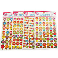 24 X METALLIC STICKERS TEACHERS CLASS ROOM MERIT REWARD WELL DONE PACK SCHOOL