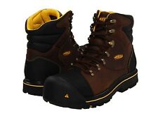 Keen Footwear Utility Mens MILWAUKEE 6 Inch Slate Black Leather ST Boots 1007976