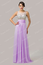 STOCK Sexy Long Women Cocktail Homecoming Celebration Evening Prom Party Dresses