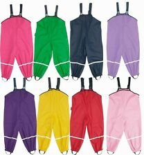 Waldorf Waterproof Rain Pants / Rain Bibs Kids - No Lining