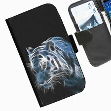 Cat Cats  Kitten Leather wallet personalised phone case for Samsung Galaxy Phone