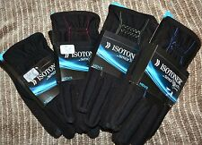 NWT $55 ISO Isotoner 700M1 SmarTouch Tech Stretch Fleece Lined Winter Gloves