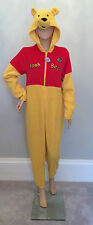 Adult WOMENS PRIMARK All in One Onesie Pyjama DISNEY WINNIE THE POOH Costume