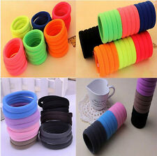 Hot Selling Gilrs High Elastic Rope Ring Hairband High Quality Ponytail HairBand