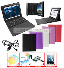 Bluetooth Keyboard Leather Smart Cover Case For Apple iPad Air 2 3 4 Mini 3 2 1