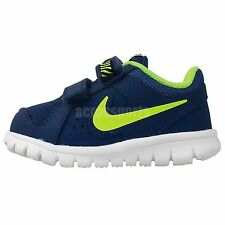 Nike Flex Experience LTR TDV Blue Volt 2014 Toddler Baby Running Shoes