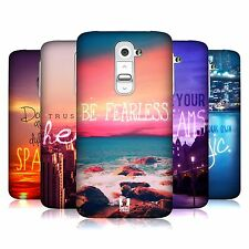 HEAD CASE DESIGNS WORDS TO LIVE BY SERIES 4 CASE COVER FOR LG G2 D802