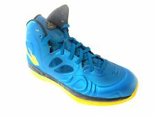 NIKE AIR MAX HYPERPOSITE MEN'S TEAL/YELLOW SHOES SZ 10, #524862-303 RET$225.