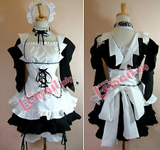 Kaichou Wa Maid-Sama Anime Ayuzawa Misaki Maid Cosplay Costume Dress Hearwear