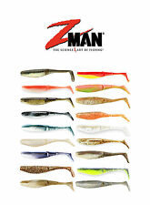 """Z MAN SCENTED PADDLERZ SWIMBAITS 4"""" (10 CM) 5 PACK select colors"""