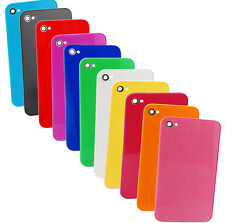 New Colorful Glass Rear Battery Door Replacement Back Cover For iPhone 4/4S/CDMA