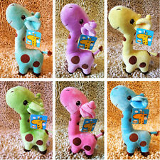 Happy Plush Giraffe Soft Toy Animal Dear Doll Baby Kid Child Birthday Gift 1*pc