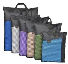 Sunland Microfiber Towel  Compact Absorbent and Drying Travel Sports Towels