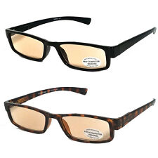 Pro Computer Anti Reflective Tinted Lens UV Protect Sun Reader Reading Glasses