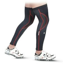 New Red Cycling Bike Bicycle Breathable Guard Knee Running Leg Warmer Sleeves