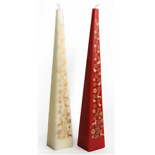 33CM CANDLE ADVENT CALENDER MERRY CHRISTMAS COUNT DOWN TO XMAS DAY GIFT PYRAMID