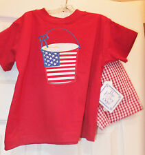 NWT - The Bailey Boys - red patriotic outfit - 3T, 4T
