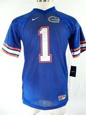 Nike Florida Gators #1 SEWN Football Jersey HOME Youth Kids Boys Royal Blue $60