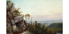 "FREDERIC EDWIN CHURCH ""Rocks and Landscape"" NEW CANVAS! various SIZES, BRAND NEW"