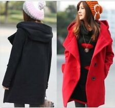 New winter Thick and long sections Women's wool coat jacket
