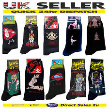 Mens Novelty Fun Rude Footra Joke Socks Stag Party Gay Gift Size 6-11