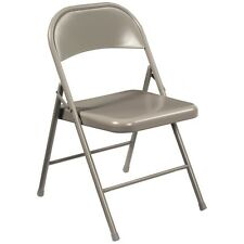 National Public Seating Commercialine Steel Folding Chair Set of 4
