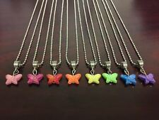 Colorful Butterfly Necklace Kids Gift Popular Item **FAST SHIPPING** USA SELLER