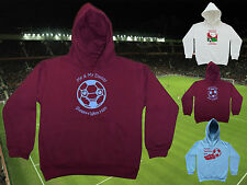 WEST HAM UNITED Football Baby/Kids Hoodie/Hoody-Boy/Girl-Personalise Name&Number