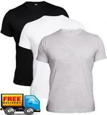 Plain Three (3) T-Shirt Combo + Super Fine Quality + Round Neck