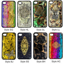 SQ-HC Glitter DIY Hand Craft Paint Unique Bling Resin Back Hard Skin Case Cover