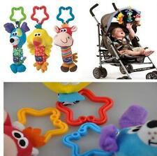 HOUS New Baby Soft Animal Handbells Rattles Bed Stroller Bells Developmental Toy