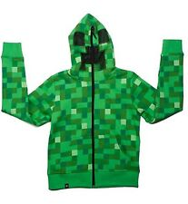 MINECRAFT CREEPER HOODIE OFFICIAL MERCHANDISE CHILDS  *BRAND NEW^