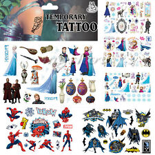 Children Frozen Body Art Removable Waterproof Cartoon Temporary Tattoo Stickers