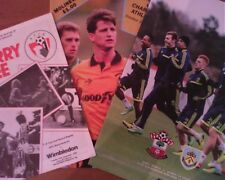 Assorted League Club Programmes