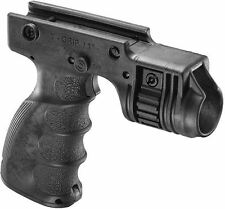 Integrated Foregrip & Light Holder Front Activation -FAB Defense Black/Green/Tan