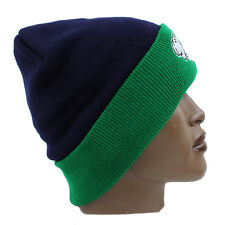 Streetwear Hands Roll Up Pom Pom Ski Beanie Cap Hat Hip Is Hop Money Time Navy