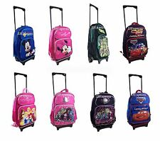"Disney TMNT 16"" Rolling Luggage Travel Backpack Travel Suite Case for Kids"