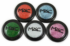 Mixed colour eyeshadow make up resin flatback cabochons 25mm - pack of 5