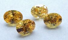 5x7 mm  Oval Cubic Zirconia  Colored Stones  1 pair - assorted colors