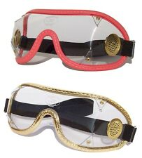 SAFTISPORTS SkyDiving Freefall Parachuting Goggles |Brass Vented/Wide Band