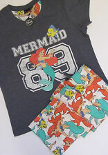 PRIMARK Disney ARIEL THE LITTLE MERMAID Pyjamas Lounge Pants & T Shirt PJ SET