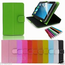 """Magic Leather Case Cover+Gift For 7"""" Polaroid 7 PAC3201 Android Tablet TY2"""