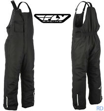Fly Racing - Aurora Insulated Snow Bibs - Men's Winter Snocross Plus Sizes +