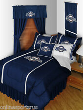 Milwaukee Brewers Bed in a Bag Curtains Valance Twin to King Size Set
