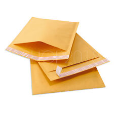 Premium KRAFT Bubble Mailer #0 #1 #2 #3 #4 #00 #000 Padded Envelope Bags Mailers